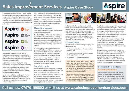 case study on sales forecasting pdf